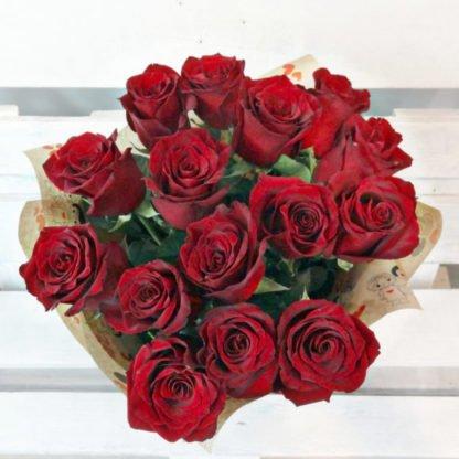 Купить 15 роз в Челябинске