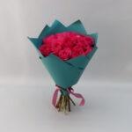 15 розовых роз Пинк Флойд