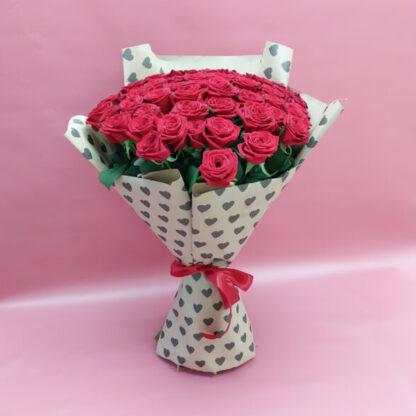51 высокая роза 80 см